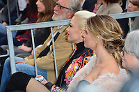 Gwen Stefani &amp; Behati Prinsloo at the Hollywood Walk of Fame Star Ceremony honoring singer Adam Levine. Los Angeles, USA 10 February  2017<br /> Picture: Paul Smith/Featureflash/SilverHub 0208 004 5359 sales@silverhubmedia.com