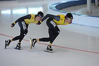 SCHAATSEN: LEEUWARDEN: 21-06-2016, ELFSTEDENHAL, Training Zomerijs, Team Lotto/Jumbo, ©foto Martin de Jong