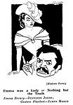 Punch cartoons by Robert Sherriffs..Film Review ;  ..Madam Bovary ; James Mason and Jennifer Jones......