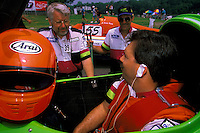 Wyatt Nelson with crewmen Bill Hesson and Craig DeWald, #39, SST-120, Augusta, GA, May 1998