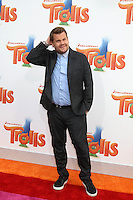 WESTWOOD, CA - OCTOBER 23: James Corden at the premiere Of 20th Century Fox's 'Trolls' at Regency Village Theatre on October 23, 2016 in Westwood, California. Credit: David Edwards/MediaPunch