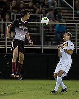 The Winthrop University Eagles played the College of Charleston Cougars at Eagles Field in Rock Hill, SC.  College of Charleston broke the 1-1 tie with a goal in the 88th minute to win 2-1.  Tucker Coons (3), Patrick Barnes (11)