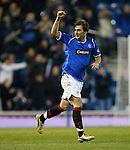 Kevin Thomson celebrates his last gasp equalising goal