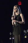 Bellmore, New York, USA. July 21, 2016. Singer SARAH BARRIOS performs at the19th Annual Long Island International Film Expo Awards Ceremony, LIIFE 2016, held at the historic Bellmore Movies.  LIIFE was called one of the 25 Coolest Film Festivals in the World by MovieMaker Magazine.