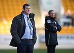 St Johnstone v St Mirren....21.03.15<br /> Saints manager Tommy Wright looks on<br /> Picture by Graeme Hart.<br /> Copyright Perthshire Picture Agency<br /> Tel: 01738 623350  Mobile: 07990 594431