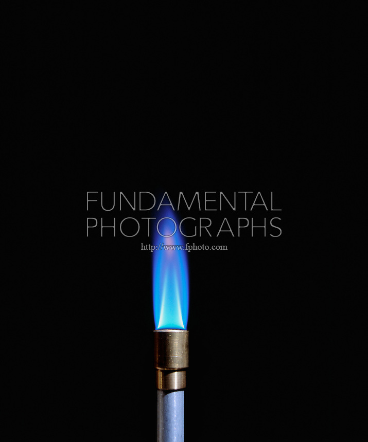 AIR INTAKE AFFECTS BUNSEN BURNER FLAME (3 of 4)<br />