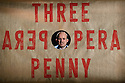 THE THREEPENNY OPERA by Bertolt Brecht and Kurt Weill in a new adaptation by Simon Stephens, directed by Rufus Norris, opens in the Olivier Theatre on 26 May as part of the £15 Travelex season. Lighting design is by Paule Constable with set and costume design by Vicki Mortimer. Picture shows: Rory Kinnear (Macheath)