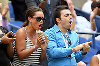 FLUSHING NY- SEPTEMBER 05: Vanessa Williams is seen watching Venus Williams Vs Pliskova on Arthur Ashe Stadium at the USTA Billie Jean King National Tennis Center on September 5, 2016 in Flushing Queens. Credit: mpi04/MediaPunch