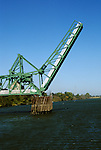California, CA, Delta, movable bridge, bascule type..Photo caggbr209   .Photo Copyright: Lee Foster, www.fostertravel.com, 510-549-2202, lee@fostertravel.com