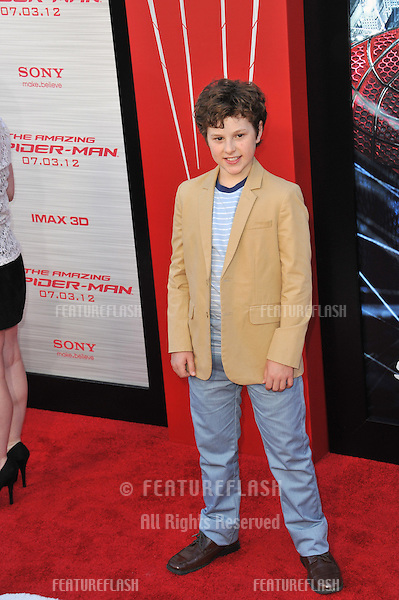 "Nolan Gould at the world premiere of ""The Amazing Spider-Man"" at Regency Village Theatre, Westwood..June 29, 2012  Los Angeles, CA.Picture: Paul Smith / Featureflash"