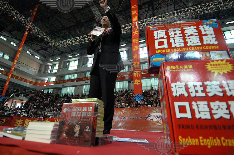 Charismatic Chinese businessman Li Yang holds a mass meeting to convert his audience to China's new religion - the English language. Using techniques borrowed from American evangelism, he gets his followers to chant self-help mantras based on the premise that learning English will better their lives.