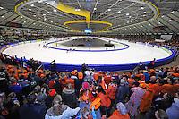 SCHAATSEN: HEERENVEEN: IJsstadion Thialf, 15-02-15, World Single Distances Speed Skating Championships, Overzicht, ©foto Martin de Jong
