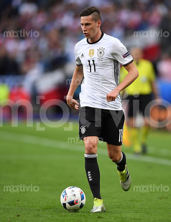 FUSSBALL EURO 2016 GRUPPE C IN PARIS Deutschland - Polen    16.06.2016 Julian Draxler (Deutschland)