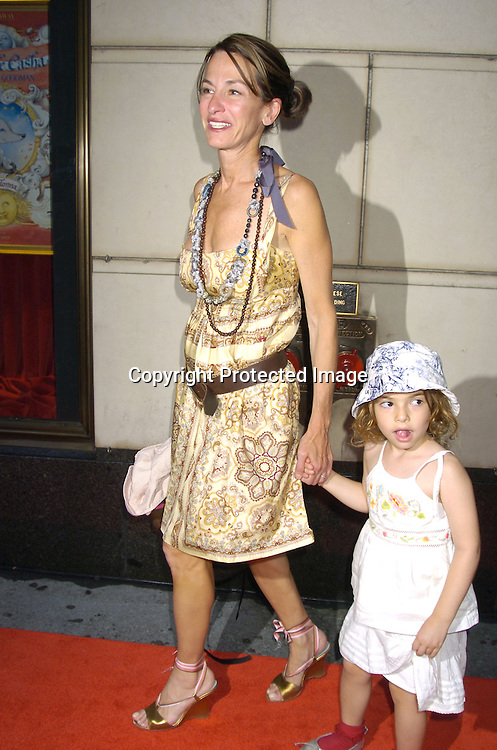 "Cynthia Rowley and daughter..at a Book party for Madonna's new book ""Lotsa De Casha"" ..on June 7, 2005 at Bergdorf Goodman. ..Photo by Robin Platzer, Twin Images"