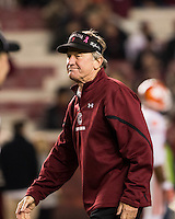 The tenth ranked South Carolina Gamecocks host the 6th ranked Clemson Tigers at Williams-Brice Stadium in Columbia, South Carolina.  USC won 31-17 for their fifth straight win over Clemson.  South Carolina Gamecocks head coach Steve Spurrier