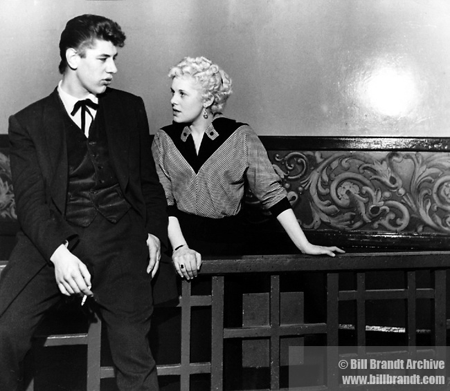 Teddy boy and Teddy girl, 1950s