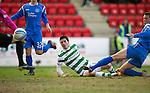 St Johnstone v Celtic.....12.04.11.Beram Kayal scores for Celtic.Picture by Graeme Hart..Copyright Perthshire Picture Agency.Tel: 01738 623350  Mobile: 07990 594431