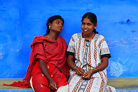 Two young Irula woman.