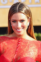 LOS ANGELES, CA - JANUARY 18: Renee Bargh at the 20th Annual Screen Actors Guild Awards held at The Shrine Auditorium on January 18, 2014 in Los Angeles, California. (Photo by Xavier Collin/Celebrity Monitor)