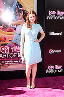 "LOS ANGELES - JUN 26:  Alexandra Breckenridge arrives at the ""Katy Perry: Part Of Me"" Premiere at Graumans Chinese Theater on June 26, 2012 in Los Angeles, CA"