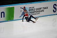 SHORT TRACK: ROTTERDAM: Ahoy, 11-03-2017, KPN ISU World Short Track Championships 2017, ©photo Martin de Jong