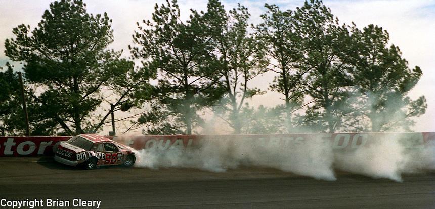 Atlanta Journal 500 at Atlanta International Raceway in Hampton, GA, November 1988.  (Photo by Brian Cleary/www.bcpix.com)