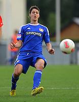 Fussball 1. Bundesliga:  Saison  Vorbereitung 2012/2013     Testspiel: Bayer 04 Leverkusen - FC Augsburg  25.07.2012 Philipp Wollscheid (Bayer 04 Leverkusen)