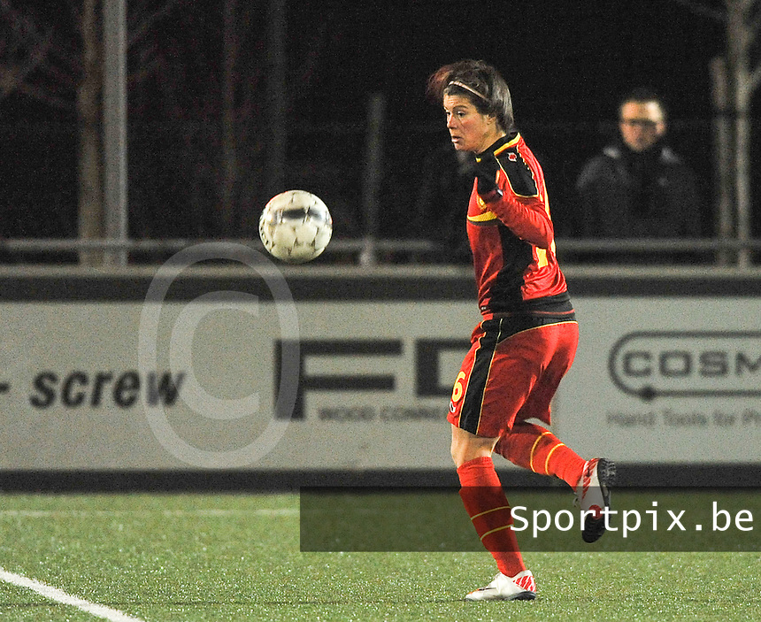 Belgium - Austria : Adeline Medard.foto DAVID CATRY / Vrouwenteam.be