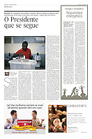 Tearsheet of &quot;Senegal: presidential election&quot; published in Expresso