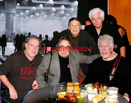 Photographers Neal Preston, Jim Marshall, Henry Diltz and Chris Walter with Graham Nash at the launch of Taking Aim-Unforgettable Rock 'N' Roll Photographs Selected By Graham Nash. at Experience Music Project in Seattle, February 6th 2010..© Chris Walter Photography.