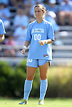 11 September 2011: North Carolina's Alyssa Rich. The Texas A&M Aggies defeated the University of North Carolina Tar Heels 4-3 in overtime at Koskinen Stadium in Durham, North Carolina in an NCAA Division I Women's Soccer game.