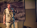 Douglas Keister presents Fifty Years Behind the Lens during Friday at Shooting the West XXVII, Winnemucca, Nev.