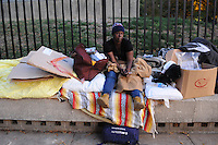 Downtown homeless told to move along by Sunday <br /> <br /> Beginning several weeks ago, as many as 50 homeless men and women have taken to setting up and sleeping along the wide granite ledge that encircles a downtown plaza directly across Central Avenue from the Fulton County Courthouse and across Mitchell Street from Atlanta City Hall.<br /> <br /> During the day, the men and women congregate along the ledges and planters. At night, long after the government workers and lawyers have gone home, the homeless folk rest on beds made from cardboard boxes and blankets until nearby churches start serving breakfast. If it's raining, some move under a tree on the grass outside City Hall, right under the office window of Mayor Kasim Reed. Others simply get drenched. Roaches the size of your little finger scurry along the wall. The concentration of homeless is so dense they've even earned a nickname from nearby outreach centers: &quot;the ledge people.&quot;<br /> <br /> &quot;This is not how human beings are supposed to live,&quot; says Matthew Thomas, a 48-year-old Columbus native who's been sleeping on the ledge for two weeks.<br /> <br /> Why they've recently converged on the perimeter of the state-owned Georgia Plaza Park isn't clear. Some have attributed the uptick to the Metro Atlanta Task Force for the Homeless' possible eviction from the Peachtree-Pine shelter. Other sources have hinted that the urban campers had occupied Woodruff Park before and during Occupy Atlanta's stay in the downtown greenspace. Everyone interviewed by CL noted that the site is conveniently located near a concentration of homeless service providers and relatively safer than sleeping under a bridge.<br /> <br /> Apparently, however, the ledge-dwelling ends this weekend.<br /> <br /> According to well-placed sources and the campers themselves, law enforcement officials have warned the group that portable barricades could be erected as early as Sunday along the ledges to deter people from sleeping there. Those who refuse to move along before Monday could face arrest.<br /> <br /> Most public off
