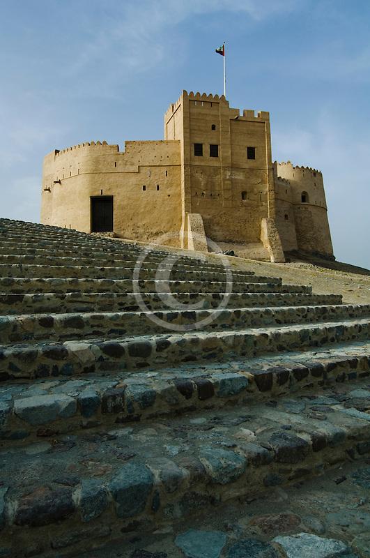 United Arab Emirates, Fujairah, Fujairah Fort, built in 1670, oldest fort in the Emirates