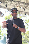 Denzel Washington Attends at the 4th Annual R&B Fest 2012 Eric Benet, Salt-n-Pepa, Christopher Williams, Kenny Lattimore, Q Parker, DJ DWIZ Presented in Association with: Globe Star Media and WBLS held at SummerStage Central Park, NY  8/12/12