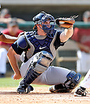 16 March 2007: New York Yankees catcher Ben Davis in action against the Houston Astros at Osceola County Stadium in Kissimmee, Florida...Mandatory Photo Credit: Ed Wolfstein Photo