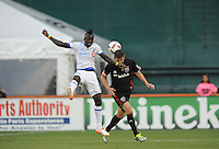 Washington, D.C. -July 31, 2016: The Montreal Impact tied D.C. United 1-1 during their Major League Soccer (MLS) match at RFK Stadium.