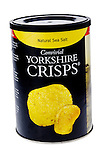 Tub of Yorkshire Crisps - Mar 2013.