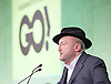 Grassroots Out Public Rally Campaign event at Queen Elizabeth Conference Centre, London, Great Britain <br /> 19th February 2016 <br /> <br /> George Galloway <br /> speaks <br /> <br /> <br /> Photograph by Elliott Franks <br /> Image licensed to Elliott Franks Photography Services