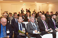 ***NO FEE PIC ***<br /> 23/04/2015<br /> General Scenes <br /> during the  launch by the Irish Maritime Development Office (IMDO) of its Irish Maritime Transport Economist report at the Morrison Hotel , Dublin.<br /> Photo:  Gareth Chaney Collins