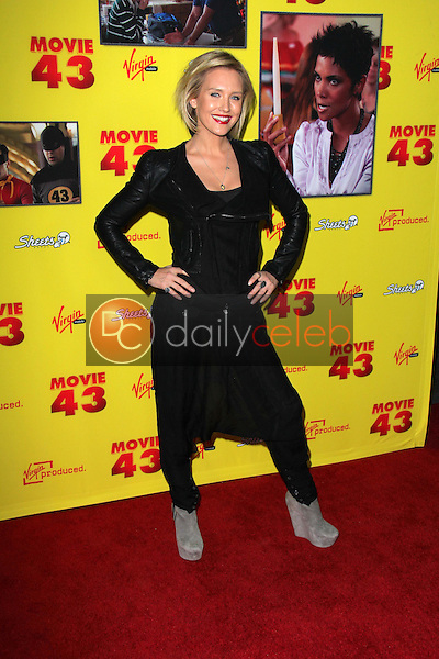 Nicky Whelan<br /> at the &quot;Movie 43&quot; Los Angeles Premiere, Chinese Theater, Hollywood, CA 01-23-13<br /> David Edwards/DailyCeleb.com 818-249-4998