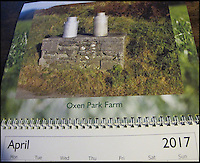 BNPS.co.uk (01202 558833)<br /> Pic: ArchieWorkman/BNPS<br /> <br /> April - Oxen Park Farm.<br /> <br /> Madcap Archie Workman is hoping to cream it in with the sales of his new calendar that pays homage to the lost milk churn stands of Britain.<br /> <br /> Archie started photographing the stone-built blocks dairy farmers used to leave their churns on for collecting after uncovering one while working as a lengthsman - someone who maintains grass verges.<br /> <br /> The forgotten structures, that are about 2ft tall, went out of use in 1979 and most have become covered in brambles and weeds since then.<br /> <br /> Archie, 60, has now immortalised 12 of them in a new 2017 calendar which is a contender for the dullest one ever made.