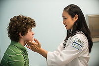 Children's Physicians, Jupiter, Fl. Patient, release 20120522007, left, Jocelyn Hu, class of 2014.