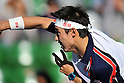Kei Nishikori (JPN), October 3, 2011 - Tennis : Men's Doubles at Rakuten Japan Open Tennis Championships in Tokyo, Japan. (Photo by Atsushi Tomura/AFLO SPORT) [1035]