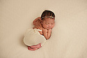 Harleigh at 5 days old Newborn Session