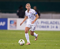 Washington D.C. - October 20, 2014: The USWNT defeated Haiti 6-0 during a CONCACAF Women's  Championship game at RFK Stadium.