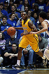 29 December 2014: Toledo's Julius Brown. The Duke University Blue Devils hosted the University of Toledo Rockets at Cameron Indoor Stadium in Durham, North Carolina in a 2014-16 NCAA Men's Basketball Division I game. Duke won the game 86-69.