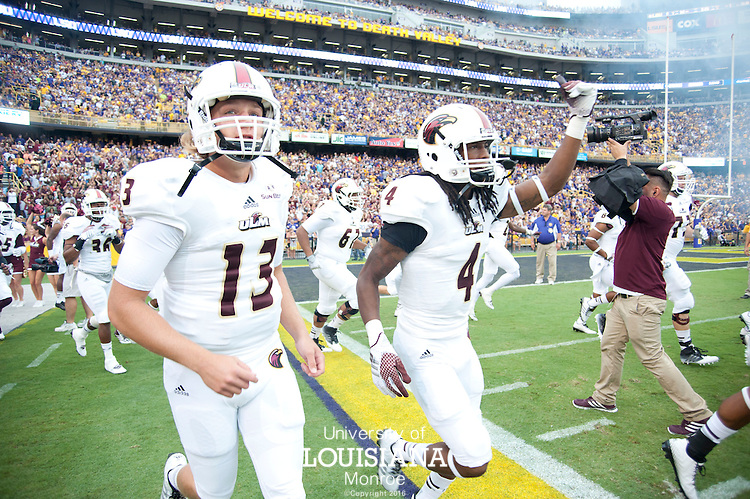 ULM at LSU 9-13-2014