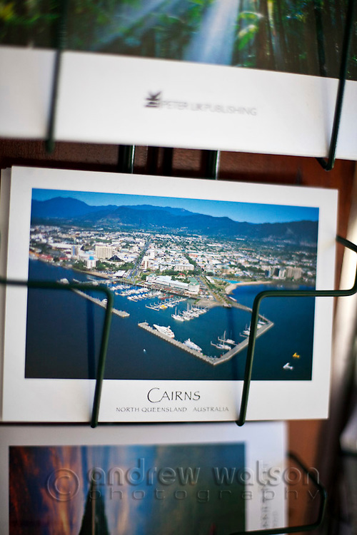 Postcards for sale.  Cairns, Queensland, Australia
