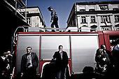 Krakow 18/04/2010 Poland<br /> People mourning the tragic death of President Lech Kaczynski and his wife in Krakow before funeral.<br /> Photo: Adam Lach / Napo Images for The New York Times<br /> <br /> Zaloba po tragicznej smierci Prezydenta Lecha Kaczynskiego i jego malzonki w Krakowie przed pogrzebem.<br /> Fot: Adam Lach / Napo Images for The New York Times